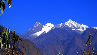 ganesh himal from bungkot by kishor kc