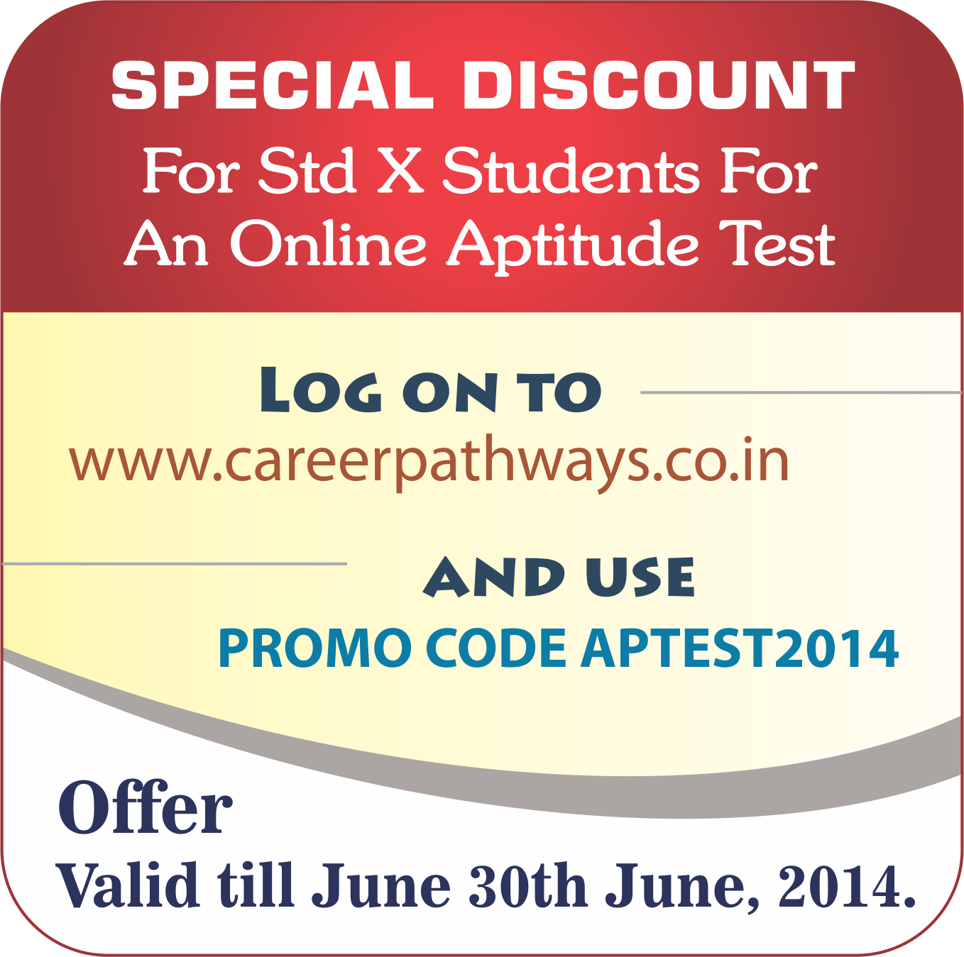online career aptitude test aptitude test online aptitude test special discount for std x students for an online aptitude test