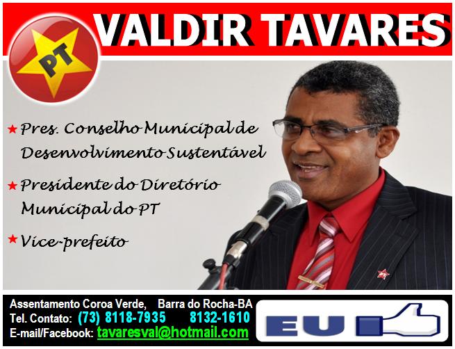 VALDIR TAVARES