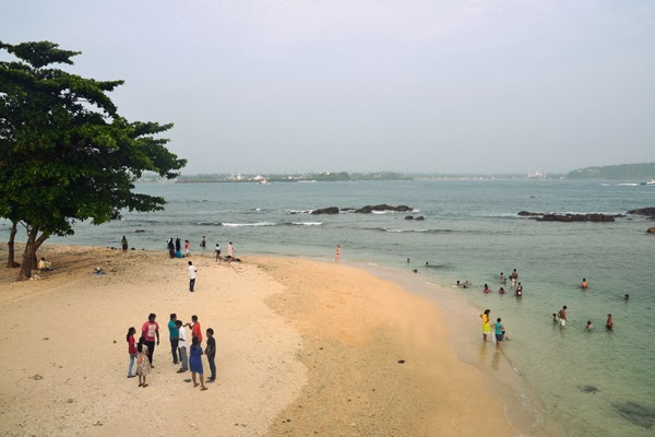 Beach at Galle