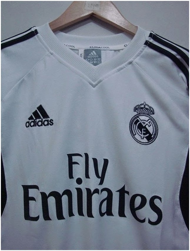 Adiddas Sweater Real Madrid Official 2014 - 2015 GO Fly Emirates