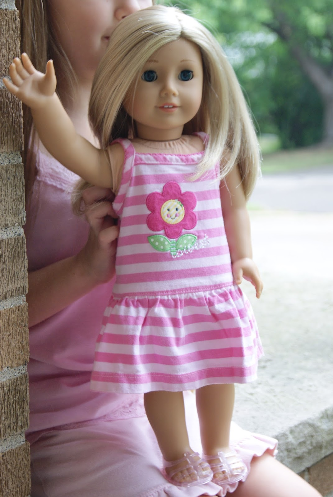No-sew 18-inch doll dress by nest full of eggs