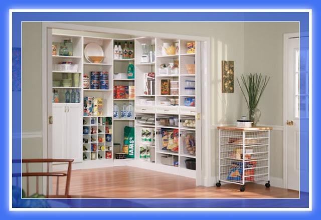 Dise os de muebles despensa pantry madera y melamina web for Muebles para guardar cosas