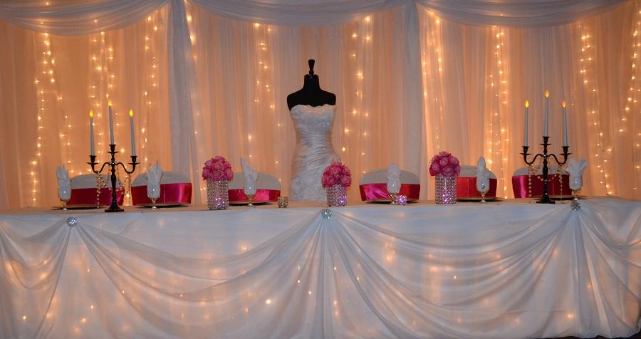 Sash Wedding Rentals And Custom Decor Love Drape
