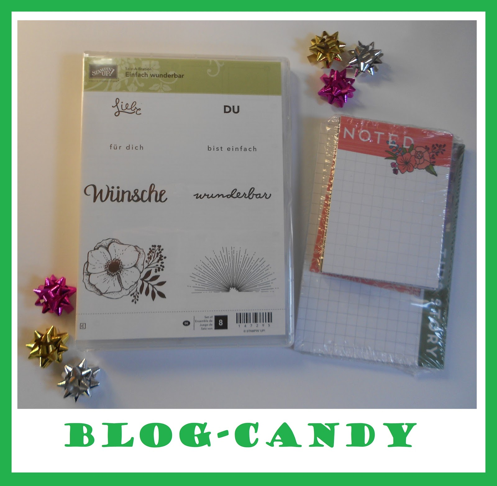 Blog Candy bei Sandra