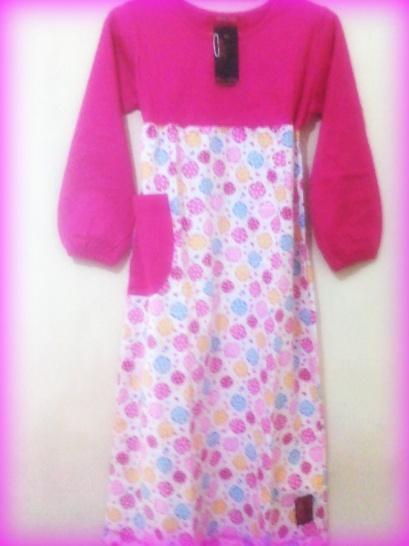 Gamis Baju Muslim Anak Perempuan Oka Oke Baju Murah