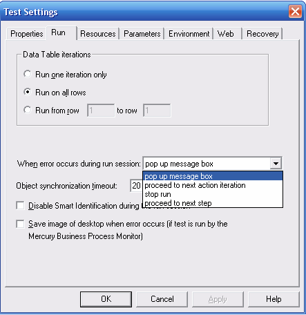 error handling using vbscript in qtp automation concepts in qtp