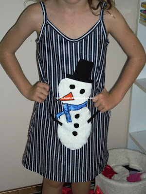 Snowman nightie