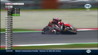 Hasil MotoGp Mugelo, Marquez Crash Rossi Luar Biasa