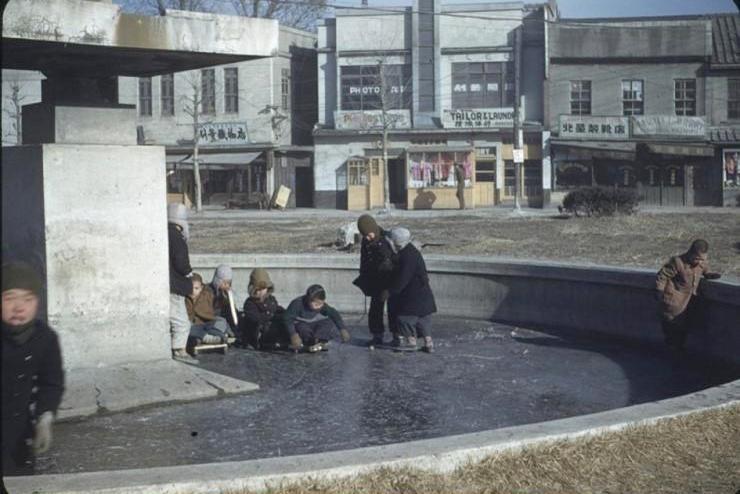 Fotografía antigua del Seúl de 1949