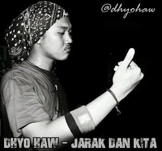 Lirik Dan Chord : Dhyo Haw - Jarak Dan Kita