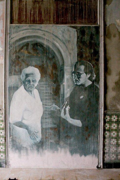 Fela y Silvio Rodríguez/Foto: Alejandro Ramírez Anderson