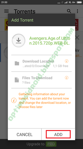 Cara Download File Torrent di Android