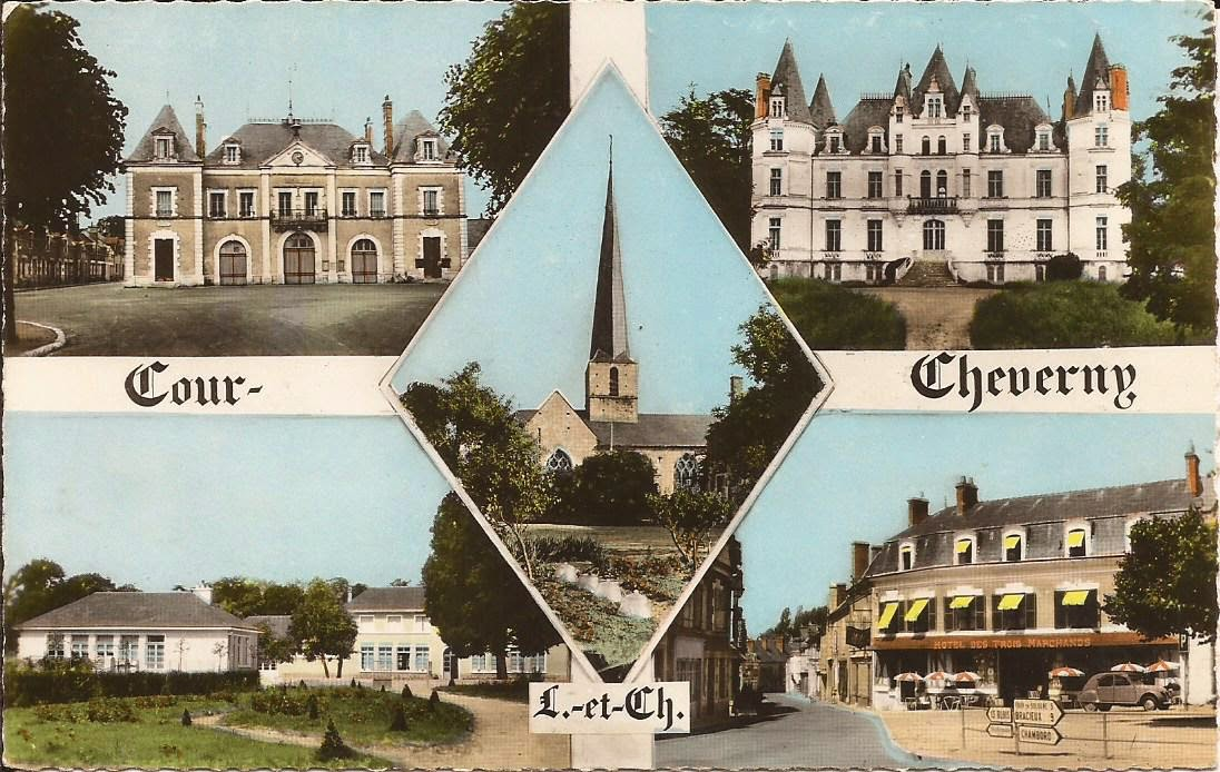 Cour-Cheverny - Vues multiples