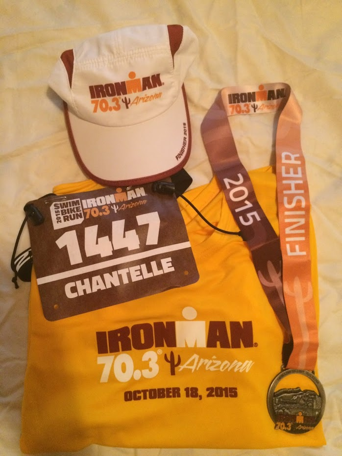 Finished My first Half Ironman - 2015
