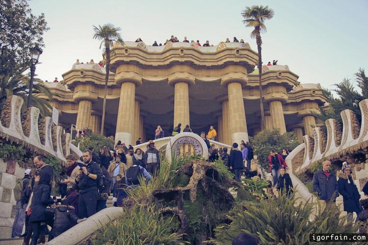 Park Guell, Barcelona, Gaudi