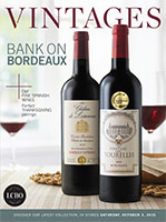 LCBO Wine Picks from October 3, 2015 LCBO VINTAGES Release