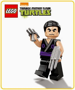 LEGO promotion Shredder minifigure
