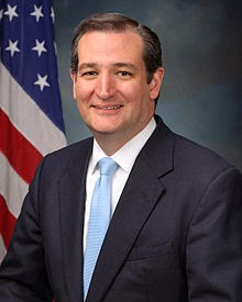 Wikipedia photo of Ted Cruz