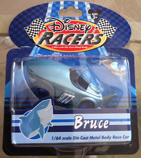 Finding Nemo Disney Racers Bruce the shark