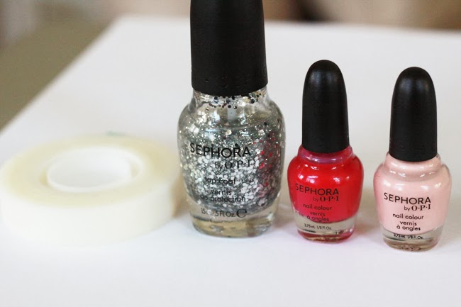 nail art, nail art tutorial, holiday glitter nails, holiday nail tutorial, holiday nail advise, favorite holiday nails, what nail color to wear for holiday, fashion blogger nail art, OPI nail polish, OPI pink nail polish, nails for new year, nails for party, silver glitter nails, best color for holiday