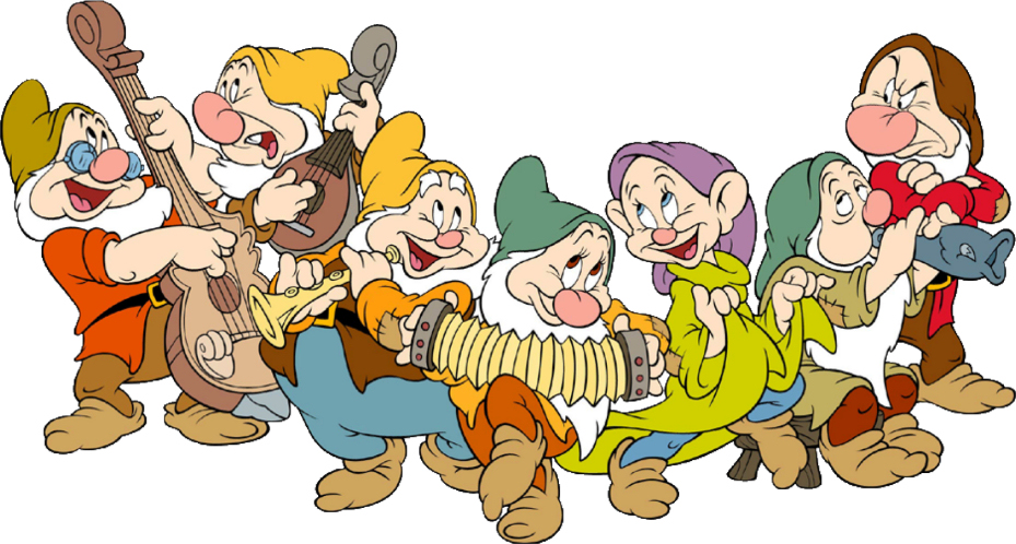 the 7 dwarfs names and pictures