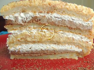 Torta sa lesnikom i slatkom pavlakom