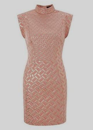 French Connecction foil detail dress 150 50 modelos populares de vestido das mulheres, criação de vestido das senhoras em 2015, senhoras vestidos de noite vestido de noite de moda 2015