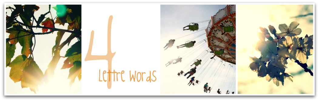 4 Lettre Words - Book Reviews