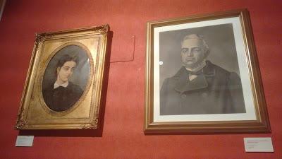 Museo antropologico de madrid. Conchita y el Dr. Velasco
