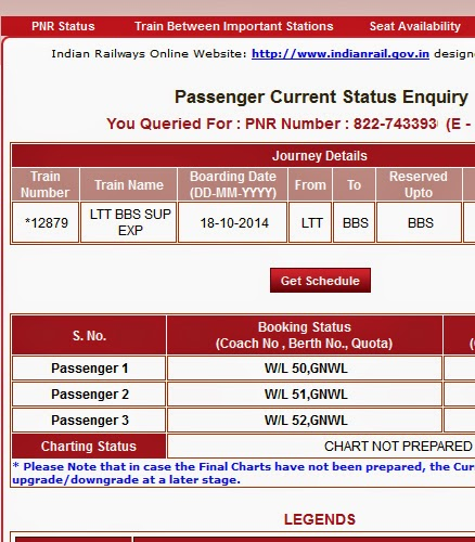 indian railways pnr status check online running status