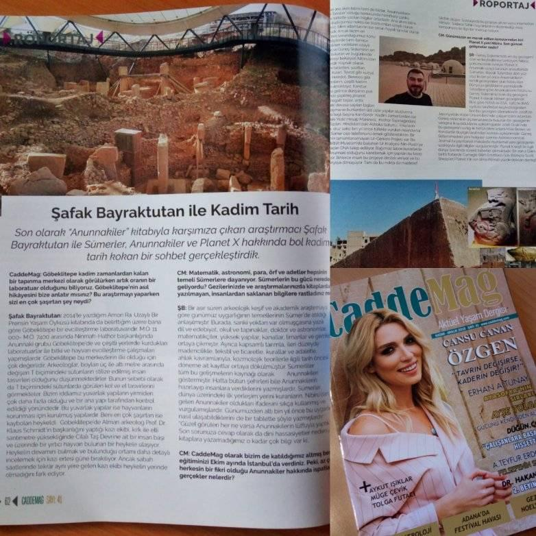 CaddeMag Dergisiyle Röportajımız - Kasım 2018