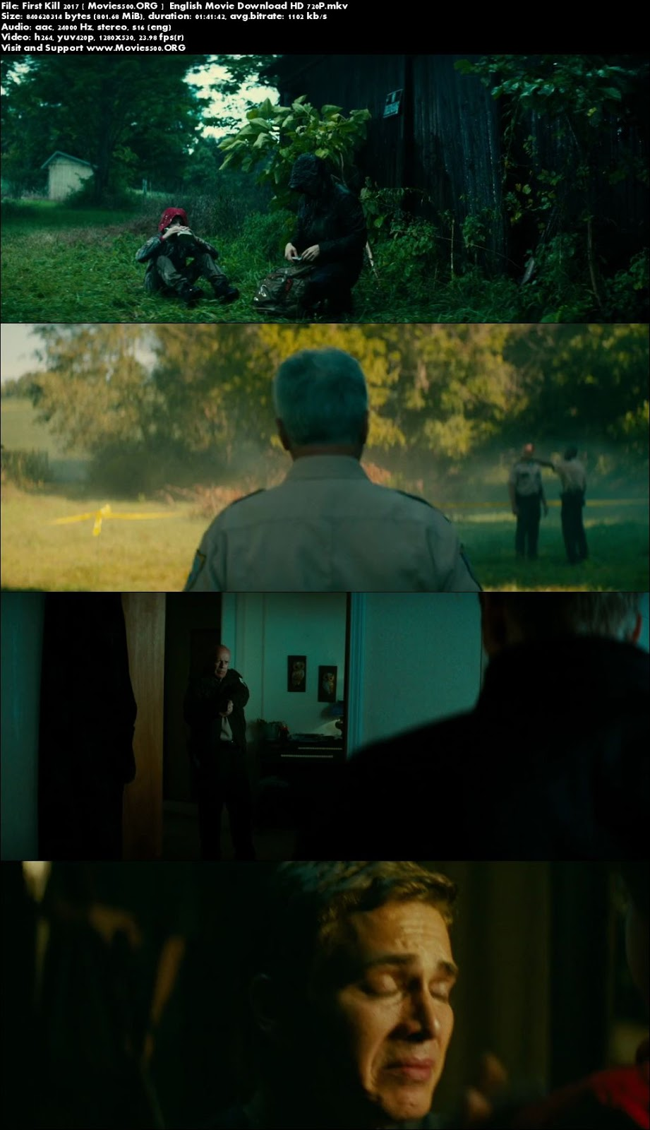 First Kill 2017 English Movie Download WebDL at sweac.org