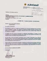 Alianza Lima: Alba Consult denunció a controller Diego Cabrera.