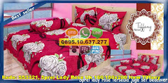 Harga Sprei Lady Rose Uk 160/180×200 New Tiffany Jual