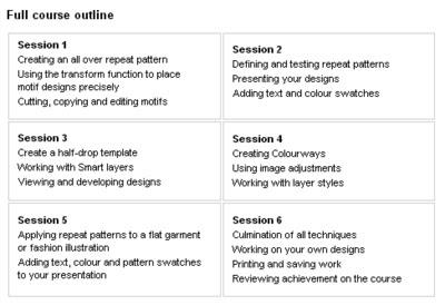 surface pattern design at FTM London