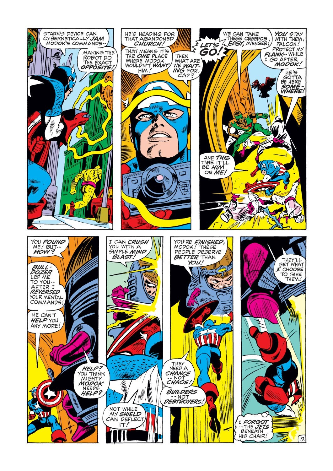 Captain America (1968) Issue #133 #47 - English 19