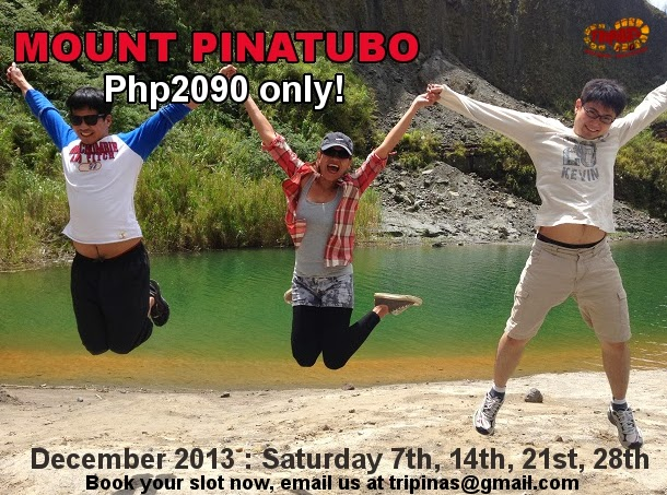 Pinatubo tour package