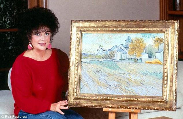 Hella Heaven: Prices of Elizabeth Taylor's art collection ...