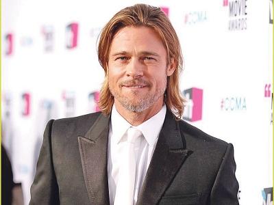 Amerika, Hiburan, Artis Amerika, Hollywood, Brad Pitt, World War Z, bayar, Tip, Tinggi