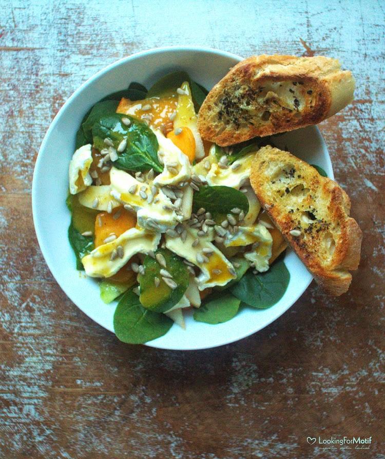 słonecznik, camembert