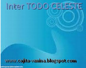 """INTER """"TODO CELESTE"""""""