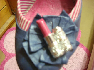 detalhes do sapato