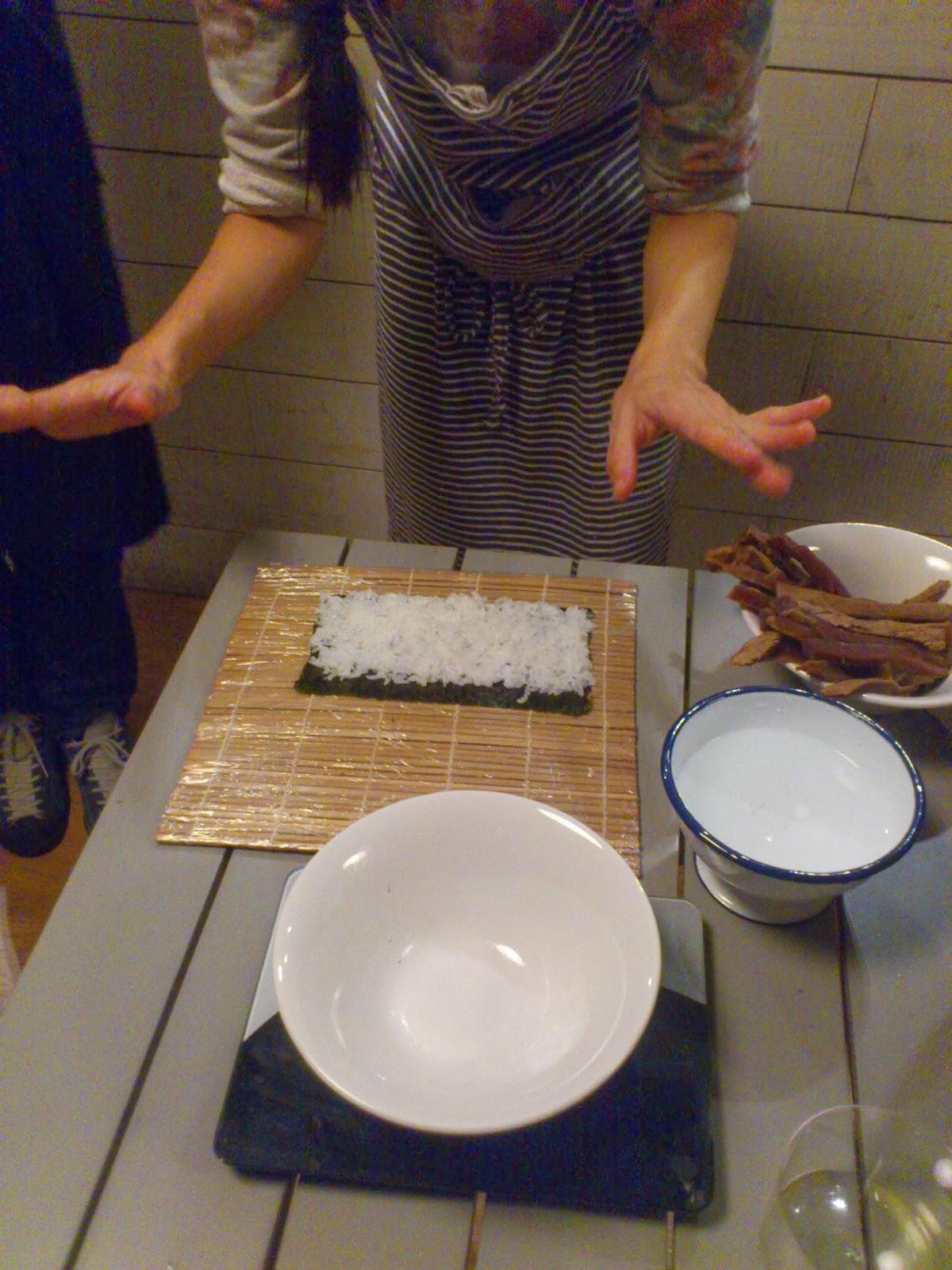 Cuñao, qué has comido hoy?: Los Palillos, sushi jamón Bar, Sevilla
