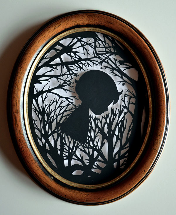 Paper Cut Art by Mlle Terite