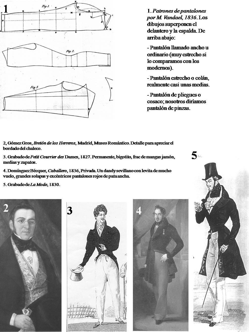 historia del traje: Capítulo 23: El traje masculino en el siglo XIX