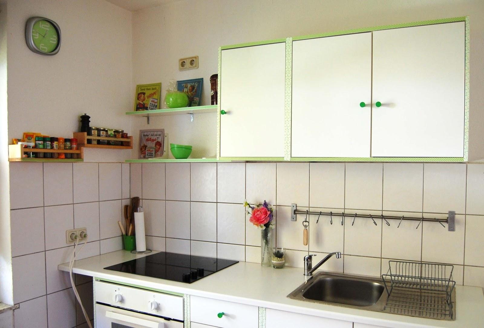 FSN: Decoración: washi tape en la cocina por Sweet Teresa