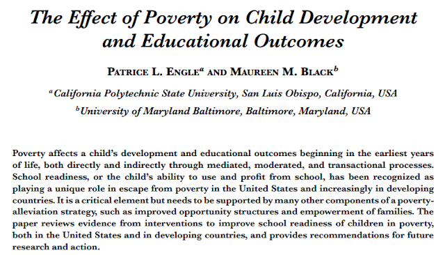 essay about education and poverty Here given is a custom-written essay example about the impacts of poverty on the environment be sure to use this outstanding paper at your convenience.