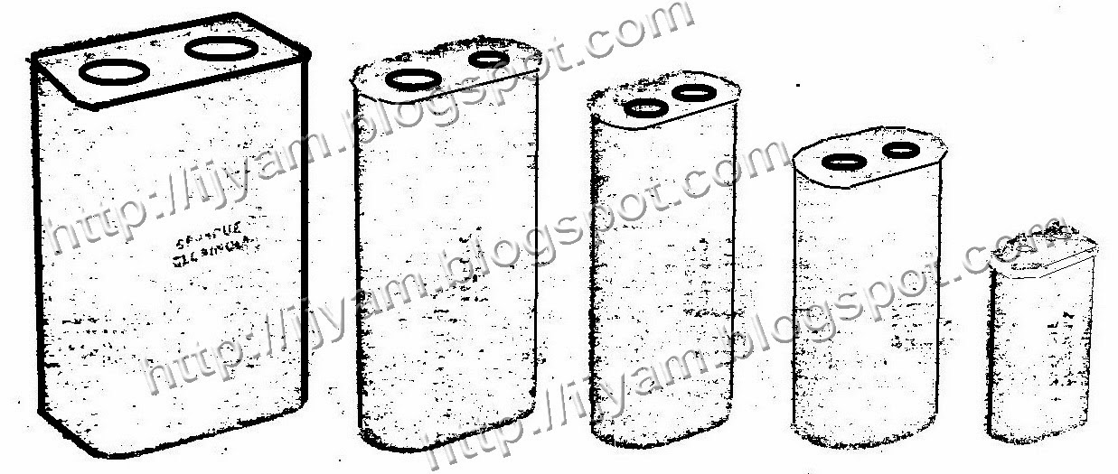 typical example of oil capacitors