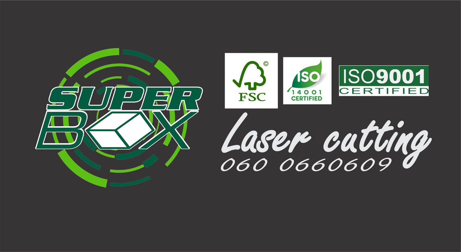 Superbox - Laser cutting